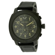 Emporio Armani Leather Mens Watch AR6061