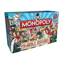 Horrible Histories Monopoly Family Board Game Brand New Sealed