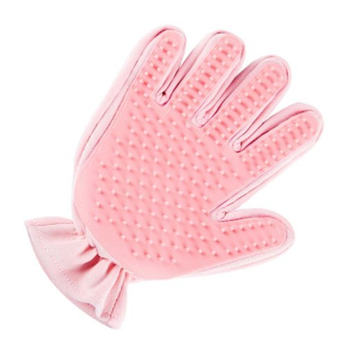 Pet Grooming Glove Pet Hair Remover Gentle Massage Tool Right
