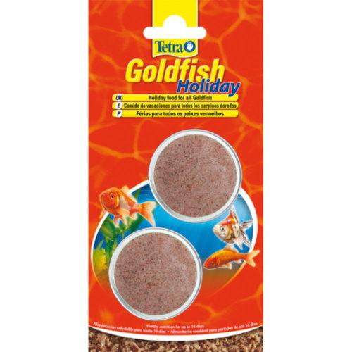 Tetra Goldfish Holiday 2x12g Aquarium 14 Day Food Block