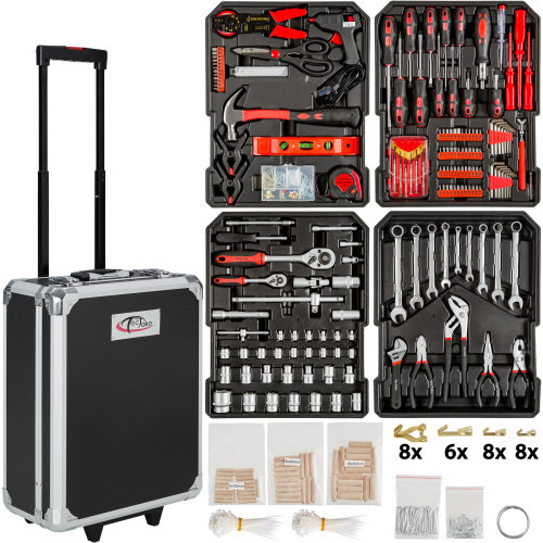 Tool box trolley 798 PCs. - black