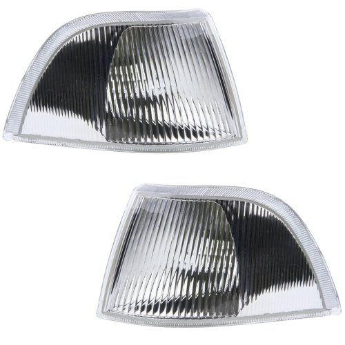 VOLVO V40 EXCLUDING T4//TURBO 1996-1999 FRONT INDICATORS CLEAR 1 PAIR O//S /& N//S