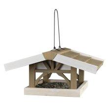 "TRIXIE Hanging Bird Feeder ""Natura"" 46x22x44 cm Brown and White 55801"