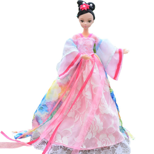 """Beautiful Chinese Style Handmade Ancient costume Dress for 11.8"""" Doll Fairy"""