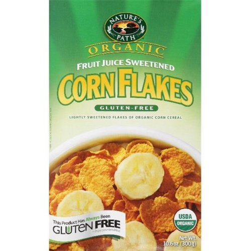NATURES PATH CEREAL FLK CORN BOX ORG-10.6 OZ -Pack of  3