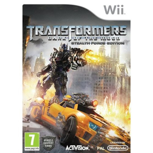 Transformers Dark of the Moon Stealth Force Edition Nintendo Wii