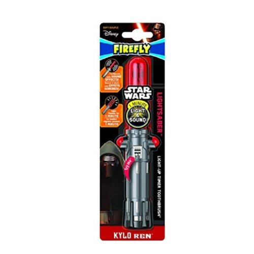 Firefly Star Wars Lightsaber 'Kylo Ren' Flashing Toothbrush