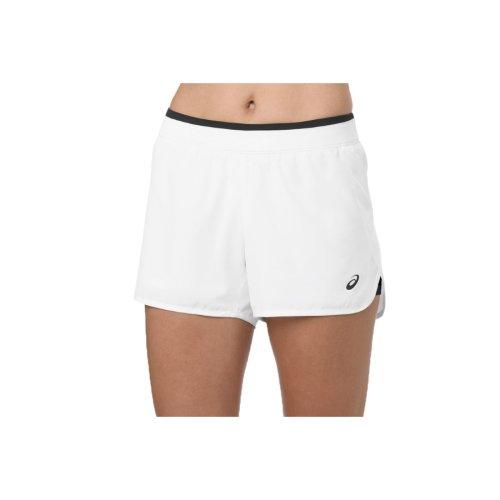 Asics Practice Short 2042A054-100 Womens White shorts