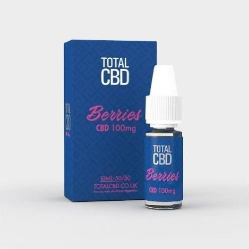 Total CBD E-Liquid 100MG Berry Burst 10ML