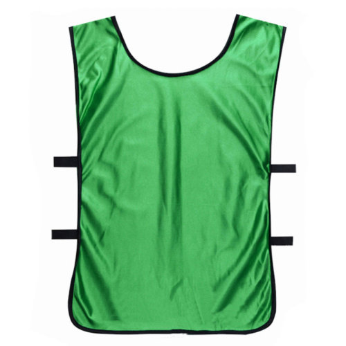 Set of 6 Basketball/Soccer Training/Scrimmage Vests Basketball Jersey, GREEN