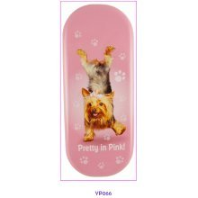 Pretty In Pink Dog Glasses Case - Yoga Pets