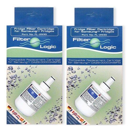 2 x FilterLogic FL-293G To Replace Samsung DA29-00003G & DA29-00003F,DA29-00003B