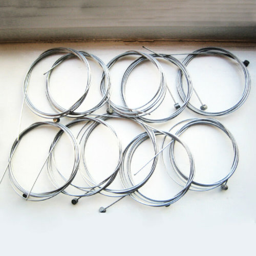 10x MOUNTAIN BIKE CYCLE FRONT GEAR CABLE INNER WIRE REAR BARREL BICYCLE