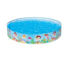 Intex 56451NP 5 ft x 10-Inch Under The Palm Trees Snap Set Pool - Multi-Colour