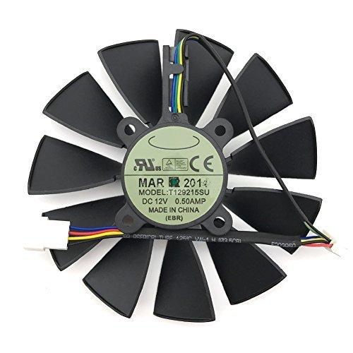 For ASUS STRIX GTX780 780TI GTX970 980 R9 280x 290X graphics card fan  T129215SU FAN A 1 pcs
