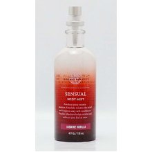 Bath & Body Works Aromatherapy Sensual Jasmine Vanilla Body Mist 4 oz/118 ml