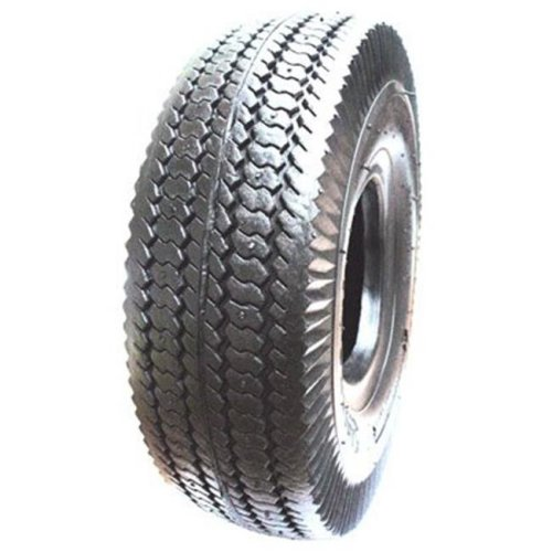 Hi-Run CT1012 4.10 x 3.50-6 in. Sawtooth Wheelbarrow Tire