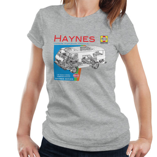 Haynes Owners Workshop Manual 0637 VW LT Van Women's T-Shirt