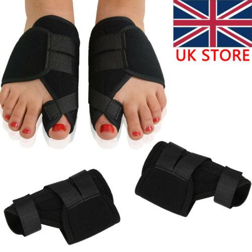 2pc Big Toe Bunion Splint Straightener Corrector Hallux Valgus Relief Foot Pain