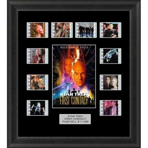 Star Trek First Contact Framed Film Cell Memorabilia