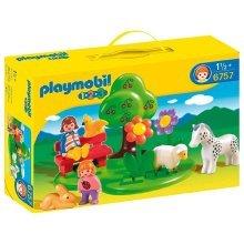 Playmobil 1.2.3 Meadow Play Set