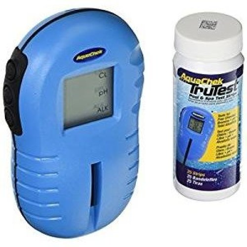 AquaChek TruTest 29120 Digital Water Tester / Test Strip Reader with Test Strips