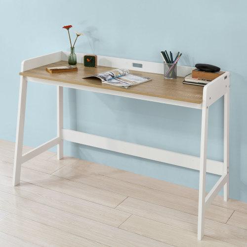 SoBuy® FWT41-WN, Home Office Table Desk Computer Desk Workstation