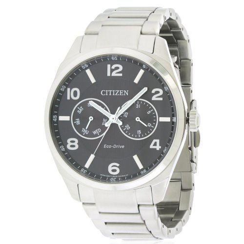 Citizen Eco-Drive Stainless Steel Mens Watch AO9020-84E