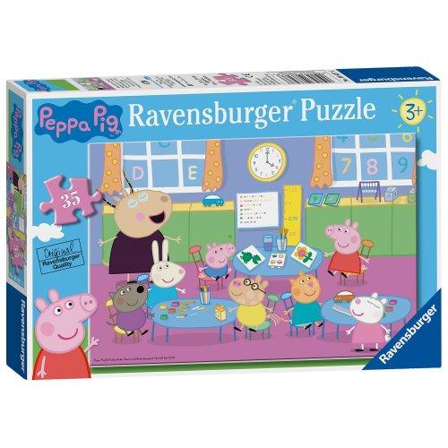 Ravensburger Peppa Pig - Classroom Fun 35pc Jigsaw Puzzle