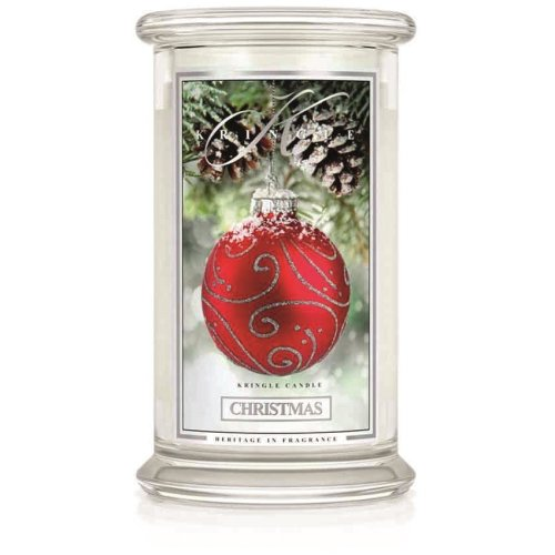 Kringle Candle Scented Large 22oz Classic Jar 2-Wick Christmas