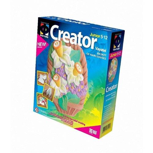 Elf707017 - Fantazer - Creator Plastercast Basket with Narcissuses