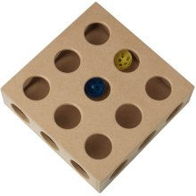"PetRageous ThinkRageous Interactive Toy 9.45""X9.45""X2.75""-Beginner"