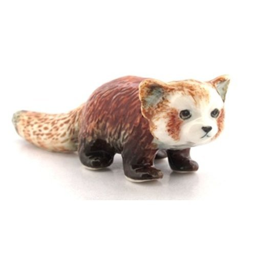 3 D Ceramic Toy Red Panda No 2 Dollhouse Miniatures Free Ship