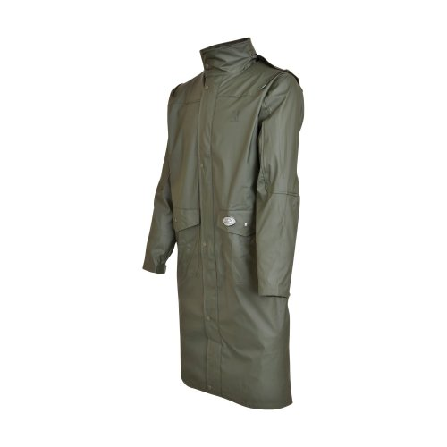 Percussion-Impersoft Long Hunting Coat With Game Bag