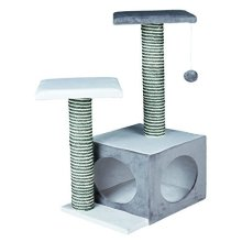 Trixie Neo Scratching Post For Cats, Cream/grey, 71cm - Cats Tree Cream Grey -  trixie scratching neo cats tree cream grey new post creamgrey 71 cm