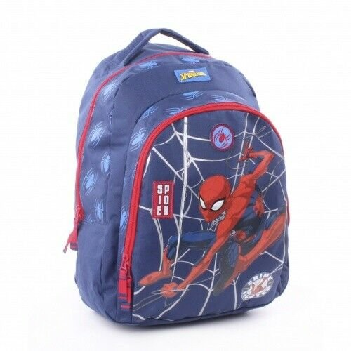 Boys Marvel Spiderman Deluxe Backpack with Front Pocket