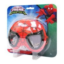 Marvel Ultimate Spider-man Swim Mask Swimming Goggles One Size Official - -  marvel ultimate spiderman swim mask swimming goggles one size
