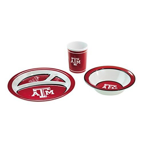NCAA Texas A&M Aggies 3-Piece Dish Set