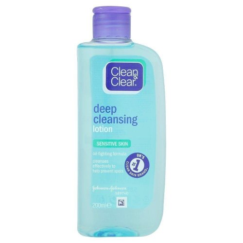 Clean & Clear Cleansing Lotion Sensitive 200ml