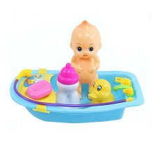 Learning Toys Pretend & Play Toys Bathing Toy Combination Blue