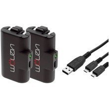 Venom Twin (2x) Rechargable Battery Packs for Xbox One