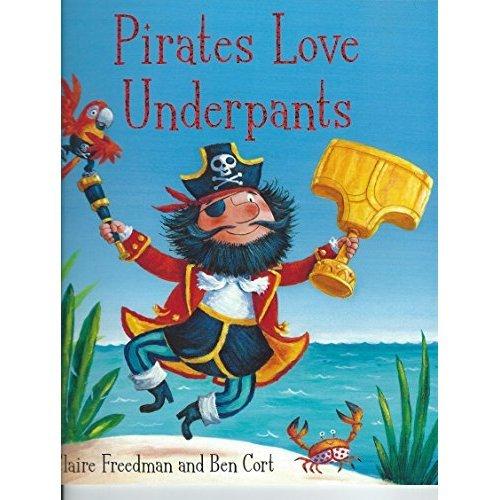 Pirates Love Underpants Pa