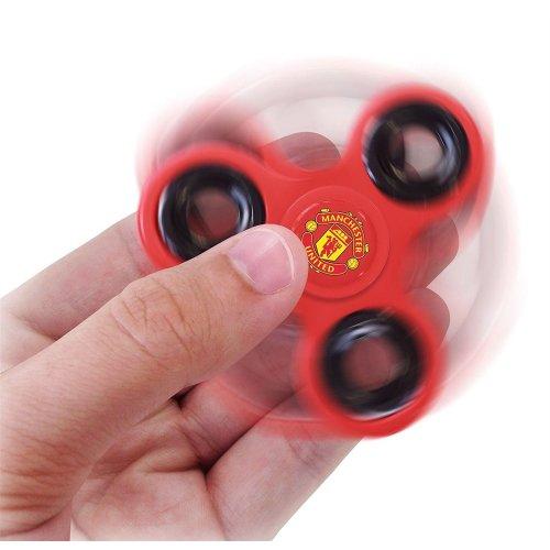 Manchester United Official Football Fidget Spinner Diztracto Spinnerz