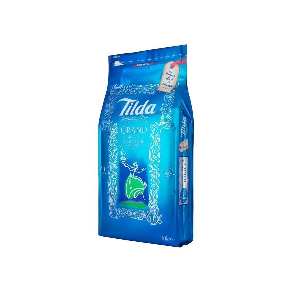 Tilda - Grand Extra Long Grain Rice - 10kg