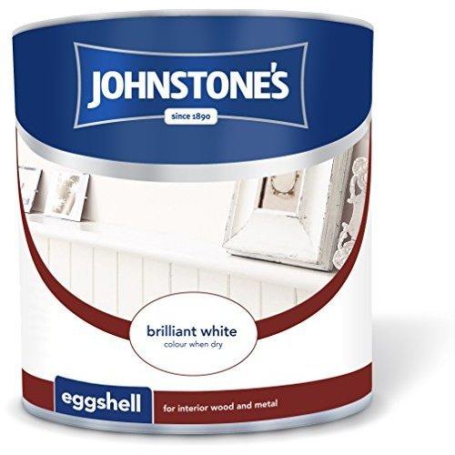Johnstone's Eggshell Paint - Brilliant White