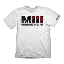 Mafia 3 Family T-Shirt S Size - White (GAYA-GE6085S)