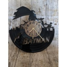 Batman 2 Vinyl Record Clock home decor gift