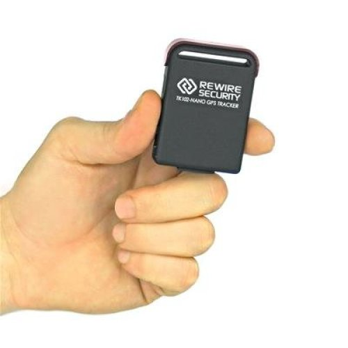 GPS Tracker Genuine Rewire Security 102-NANO Magnetic Car Vehicle Personal Tracking Device