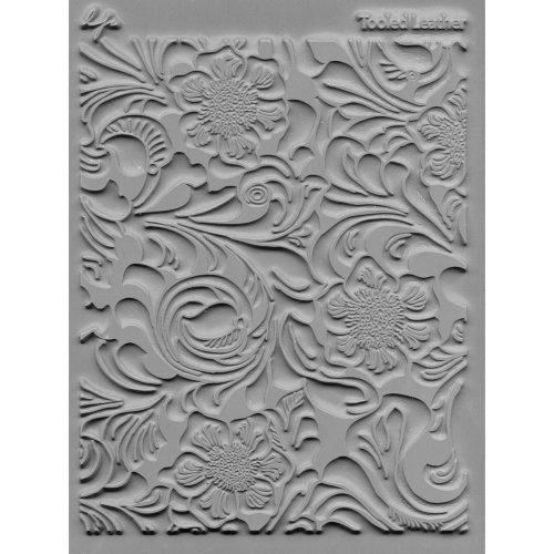 """Lisa Pavelka Individual Texture Stamp 4.25""""X5.5""""-Tooled Leather"""