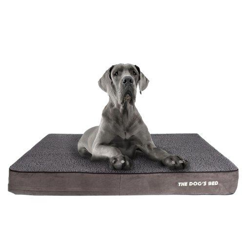 The Dog's Bed, Premium Plush Orthopedic Waterproof Memory Foam XXL Dog Bed, Eases Pet Arthritis, Hip Dysplasia & Post Op Pain, Quality...